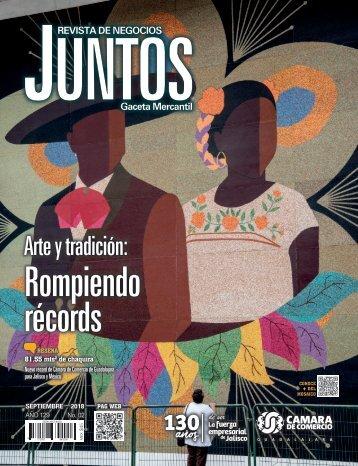Juntos Gaceta Mercantil - Septiembre 2018