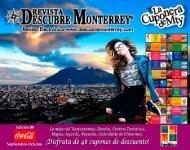 Descubre Monterrey 89 Septiembre Octubre 2018