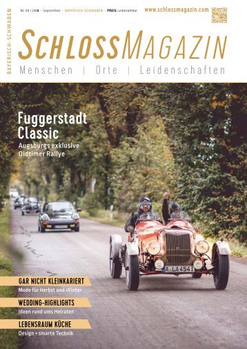 SchlossMagazin Bayerisch-Schwaben September 2018
