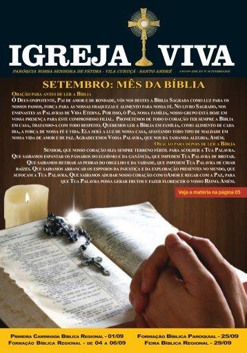 Revista Igreja Viva Edição Setembro 2018