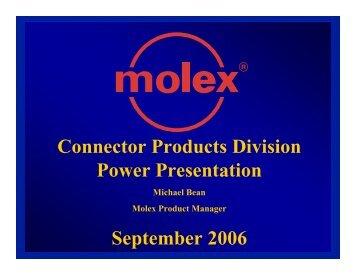 Molex & Closing - TTI Inc.