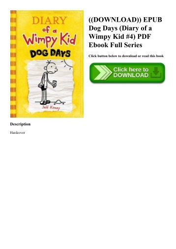 Diary Of A Wimpy Kid Books Epub