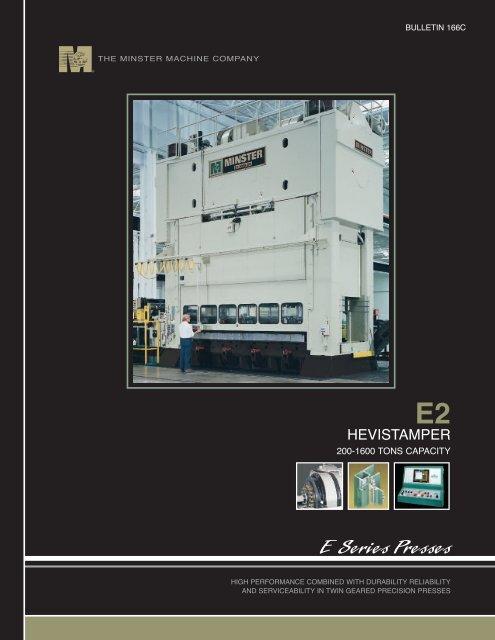 E Series Presses - The Minster Machine Company