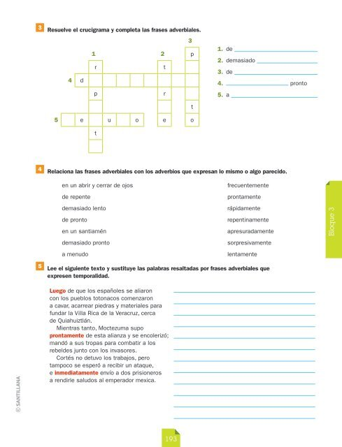 3 Resuelve El Crucigrama
