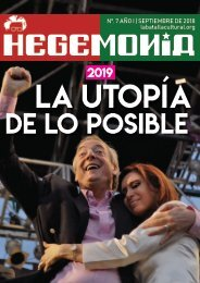 Revista Hegemonía. Año I Nº. 7