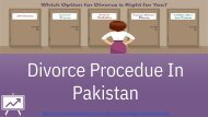 divorce procedure in pakistan