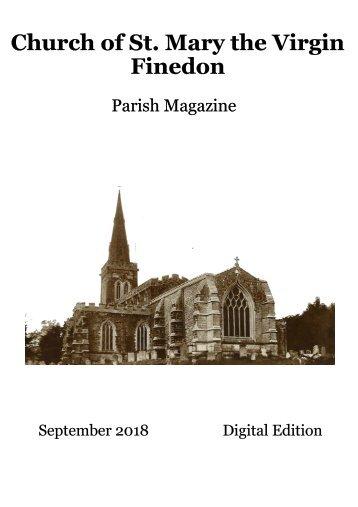 St Mary's August 2018 Parish Magazine
