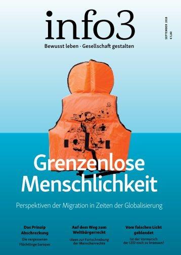 Info3 September 2018 - Anzeigenstrecke
