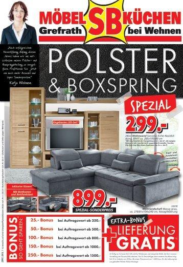 Prospekt: Polster & Boxspring
