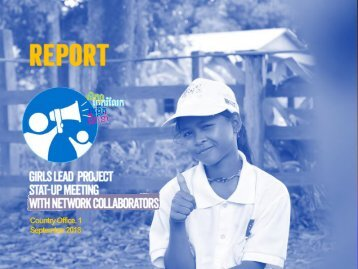 Report Girls Lead  Project Stat-up Meeting  with Network Collaborators