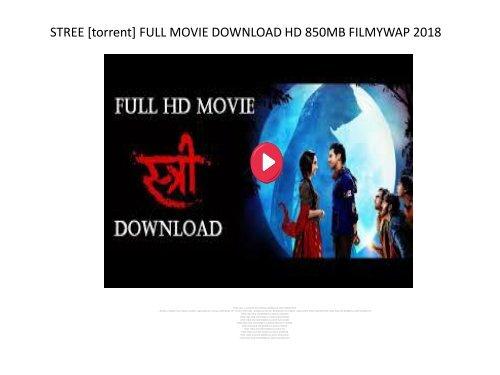 stree movie torrent