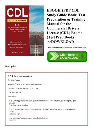 Drivers manual and study guide ebook array pdf download cdl study guide book test preparation u0026 training rh fandeluxe Images
