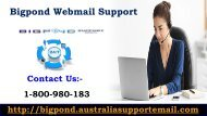 Dial 1-800-980-183 For Changing Bigpond Forgot Password Quickly