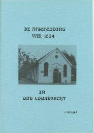 De Afscheiding van 1834 te Oud-Loosdrecht