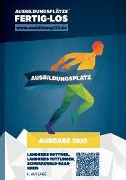 AUSBILDUNGSPLÄTZE - FERTIG - LOS | Rottweil, Tuttlingen, Schwarzwald-Baar 2019