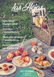 Revista Las Hojas | Edición Septiembre 2018
