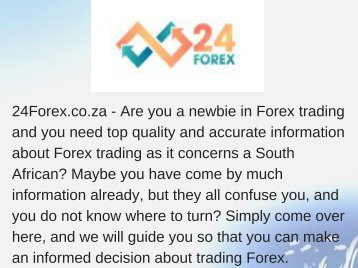 Forex Trading Signals Provider South Africa
