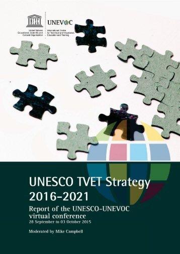 UNESCO TVET Strategy (2016-21)