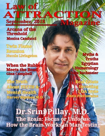 Law of Attraction Magazine, September 2018