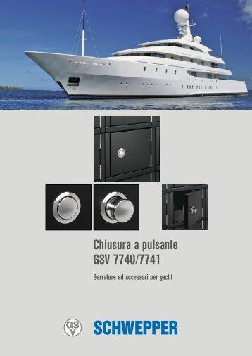Product leaflet GSV 7740 / 7741 (Italian)