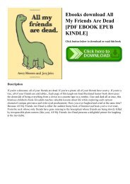 Dead all are ebook friends my