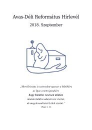 Hírlevél 2018. szeptember