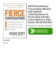 Fierce Conversations Ebook