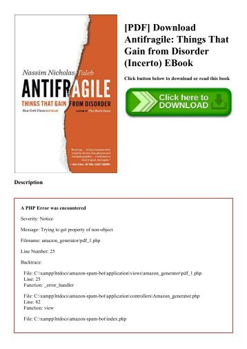 Download gain things epub disorder antifragile from that