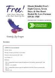 Ebook [Kindle] Free! Eight Graves  Seven Days  & One Heart Healed By Love Forman EPUB  PDF
