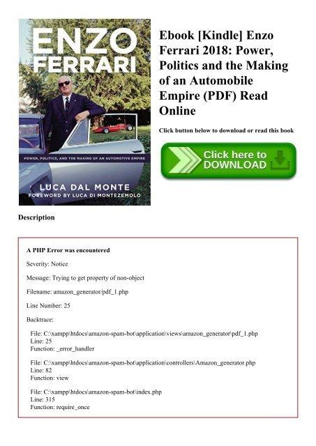 Automobile Pdf File