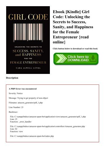 Ebook [Kindle] Girl Code Unlocking the Secrets to Success  Sanity  and Happiness for the Female Entrepreneur {read online}