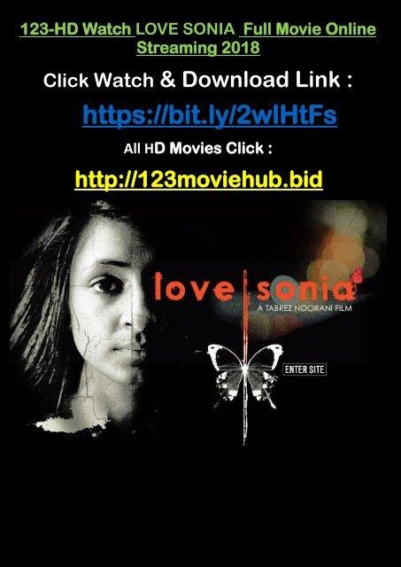 Live Stream Watch Love Sonia 2018 Full Movie Online Streaming 2018
