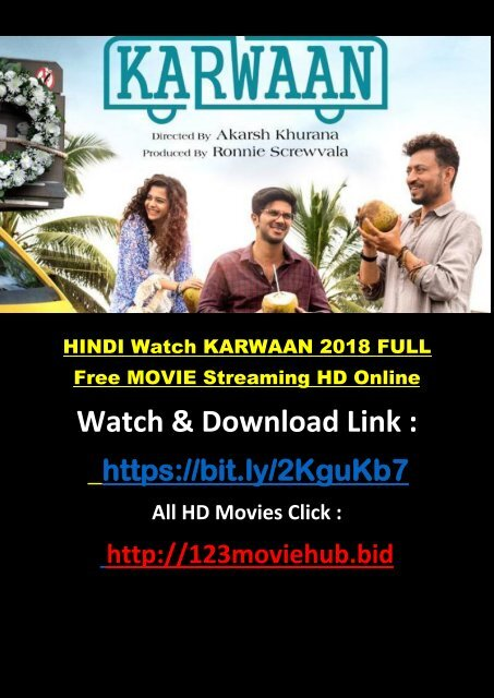 karwaan hindi full movie watch online free