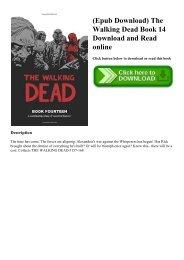 The Walking Dead Epub