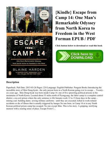 camp 14 pdf book escape from