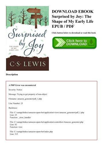 Pdf surprised by joy | pdf file.