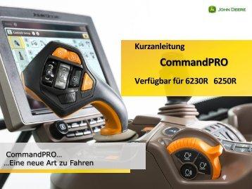 CommandPro Kurzanleitung