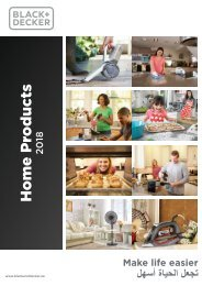 B D Home Products Catalogue 2018