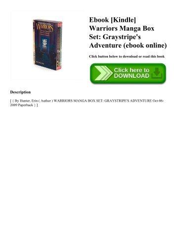 Ebook [Kindle] Warriors Manga Box Set Graystripe's Adventure (ebook online)