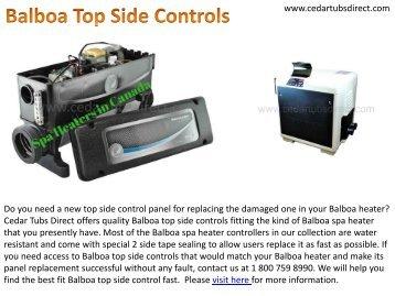 Best Balboa Top Side Controls