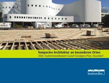 Temporäre Architektur an besonderen Orten - Landesinitiative ...