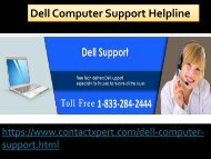 1-833-284-2444 Comfort Dell Computer Support Phone  Number