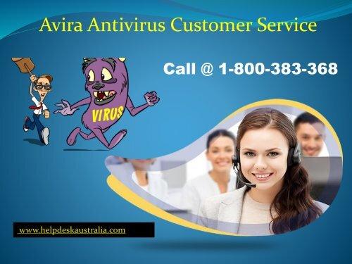1-800-383-368 Avira Antivirus Customer Support Number Australia- Get Instant Support