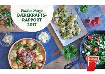 Findus Norge Bærekraftsrapport 2017
