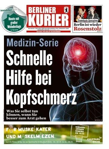 Berliner Kurier 01.09.2018