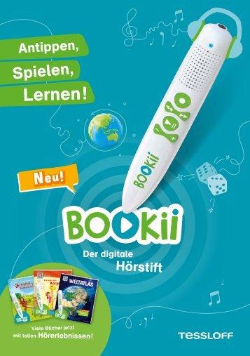 BOOKii® lässt nicht nur Bücher sprechen - digitaler Hörstift von Tessloff