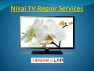 Get the solution by Nikai TV Repair Services, Call @ 0544474009