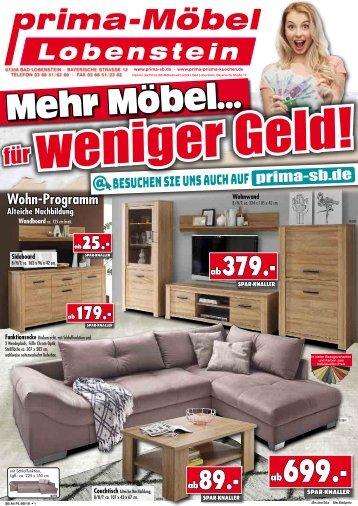 Mehr Möbel für weniger Geld! Prima Möbel in 07356 Bad Lobenstein