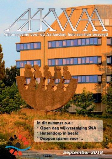 Wijkblad Aakwaa september 2018