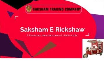 E Rickshaw Manufacturers in Delhi India 9871159544